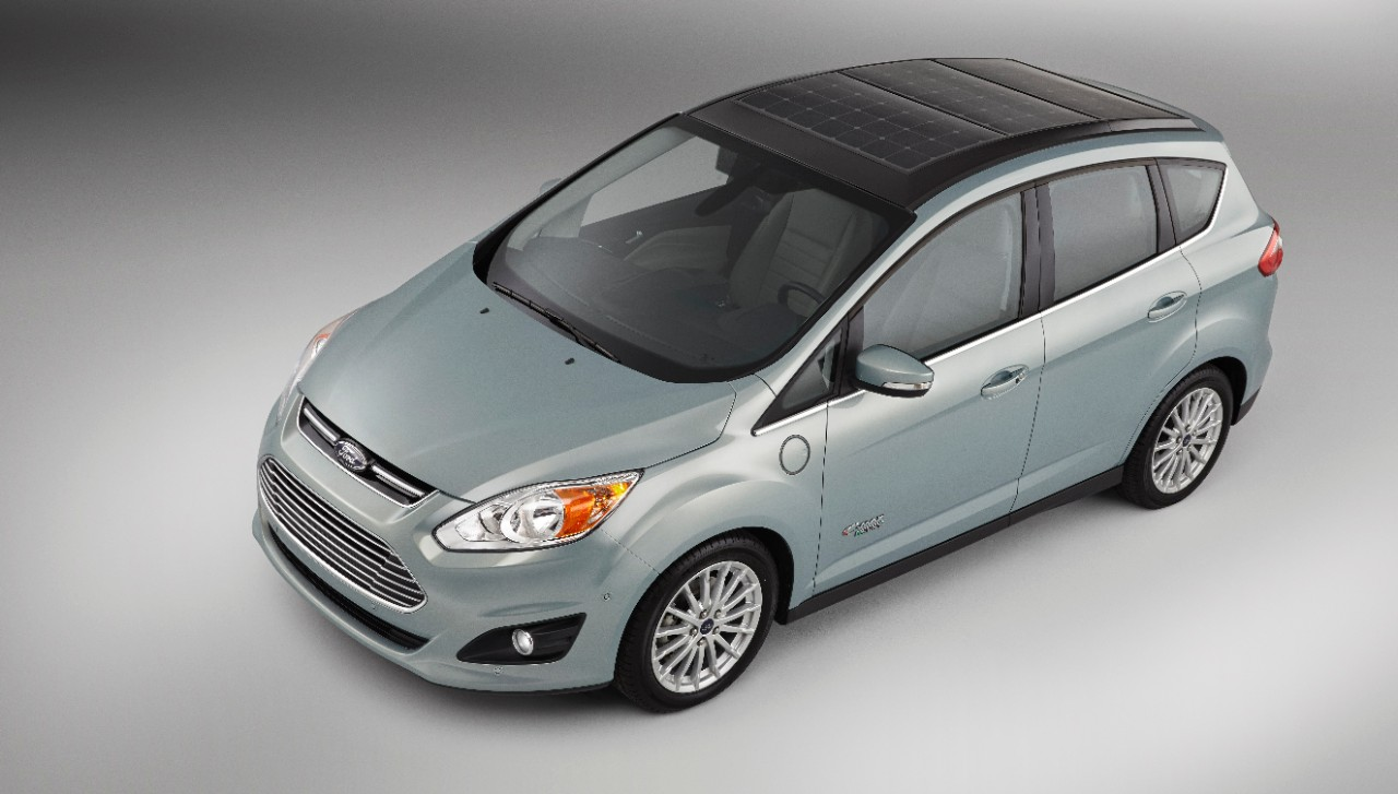 Ford reveals sun-powered concept: Ford C-Max Solar Energi