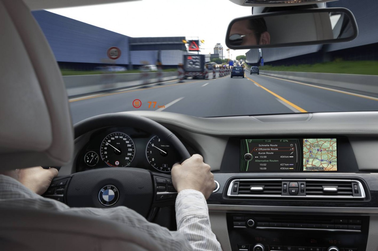 BMW planning in-car advertisement app