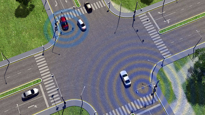 Bicycle to car communication system in the works