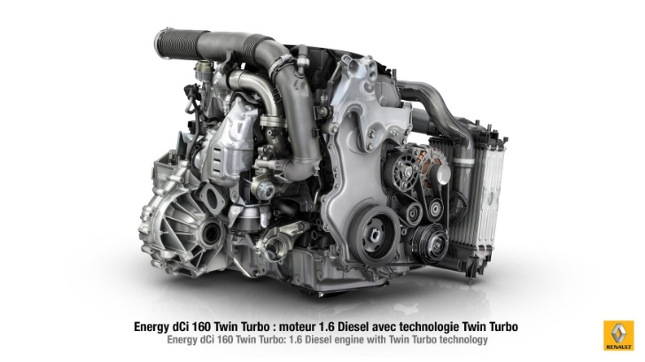 Renault reveals their new 1.6-litre twin-turbo diesel engine