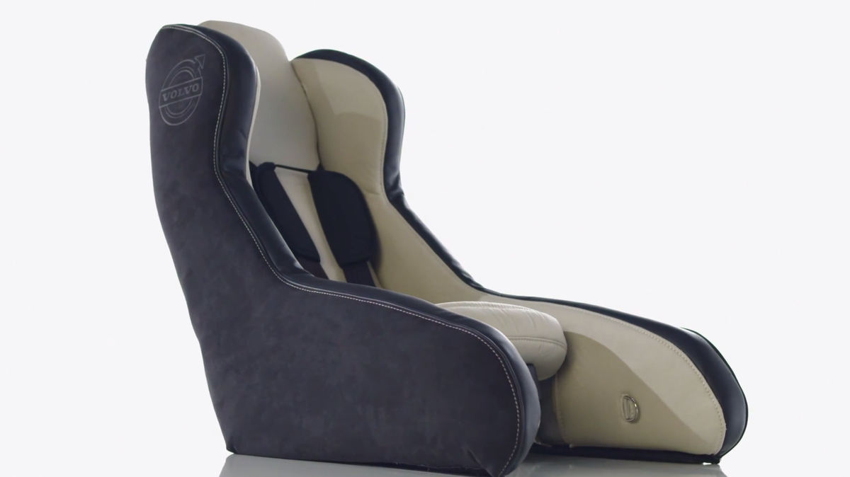 Volvo is working on inflatable child seat