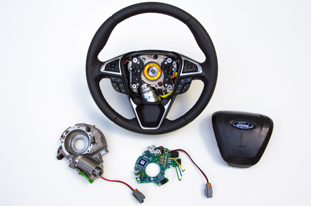 Ford is planning to introduce adaptive steering in 2015
