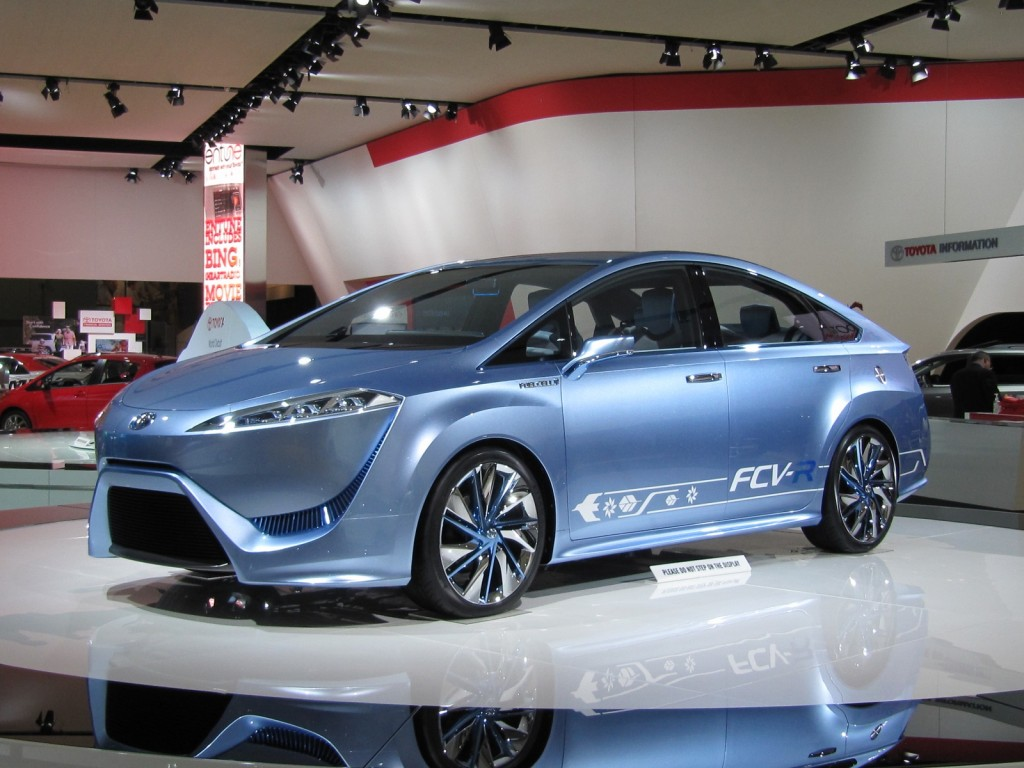 Toyota to focus on hydrogen fuel cell vehicles