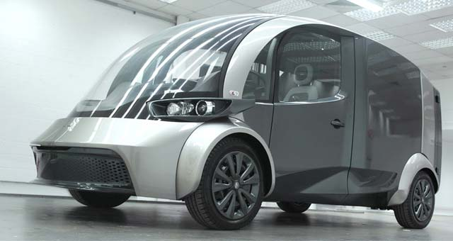 Liberty Electric Cars shows the Deliver prototype