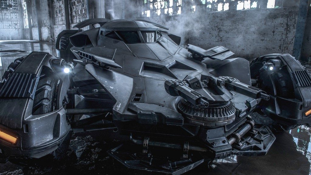 The Batmobile is here!