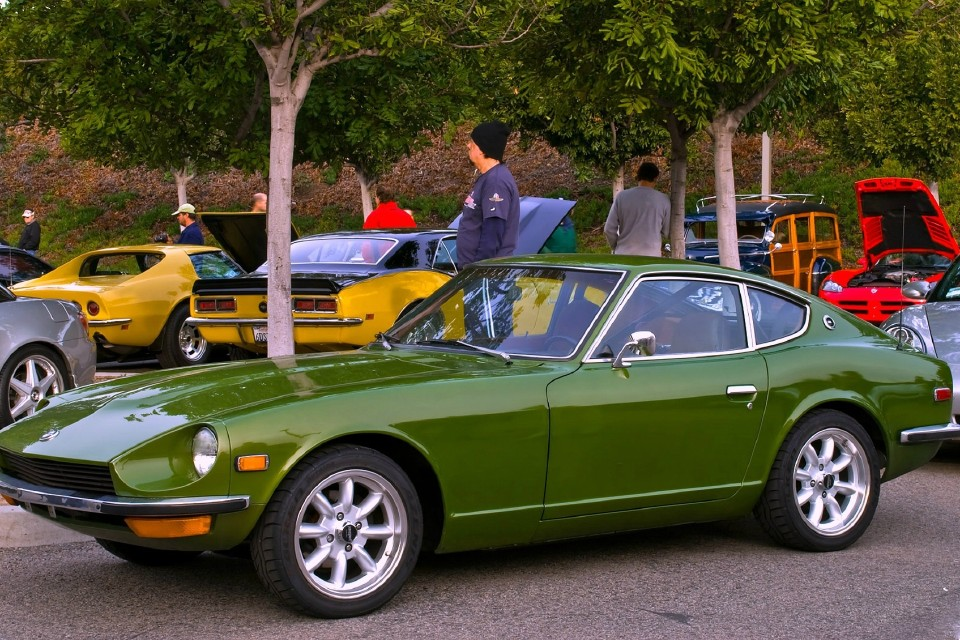 Last Boston auto lawn event gathers classic Japanese cars