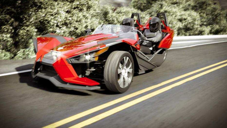 Car or three-wheeler motorcycle? Erm… car, definitely!