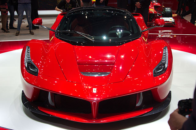 Ferrari LaFerrari, the 1 million Pound car