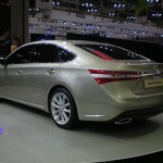 A chat about Toyota Avalon Hybrid 2015