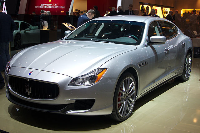 Elegance and poise, the definition of Maserati