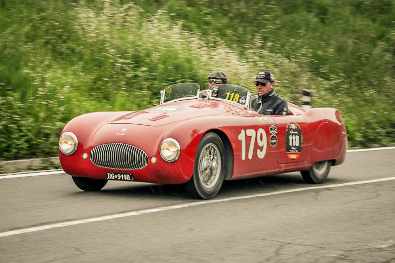 Mille Miglia 2015, remembering old times