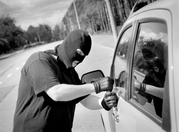 How can I protect my car against theft?