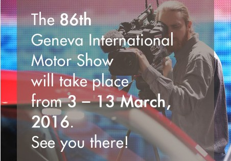 Last preparations for the Geneva Motor Show 2016