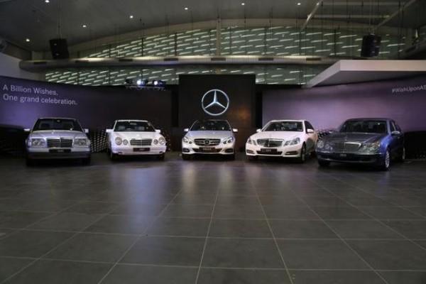 Celebrating 20 years with Mercedes SLK