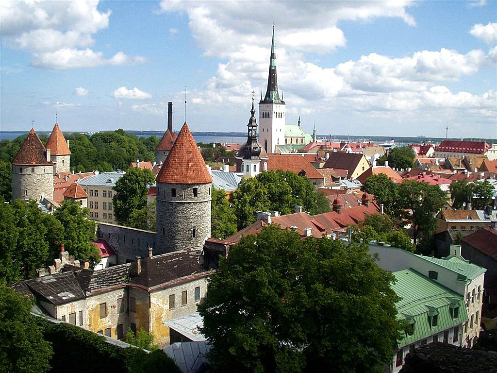 Best Preserved Medieval cities: Tallinn